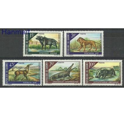 Znaczek Dahomej 1968 Mi 337-341 Czyste **