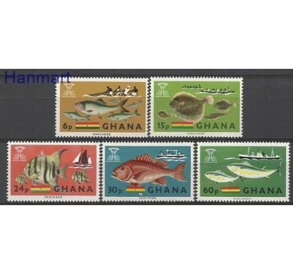 Znaczek Ghana 1966 Mi 261-265 Czyste **