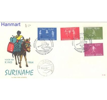 Znaczek Surinam 1964 FDC