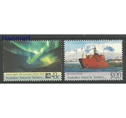 Znaczek Australijskie Terytorium Antarktyczne 1991 Mi 88-89 Czyste **