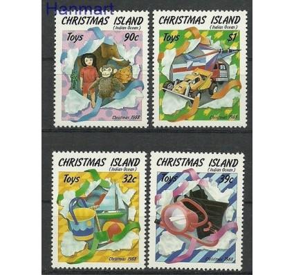 Znaczek Wyspa Bożego Narodzenia 1988 Mi 266-269 Czyste **