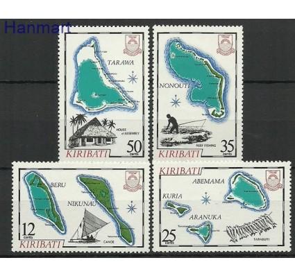 Znaczek Kiribati 1981 Mi 421-424 Czyste **