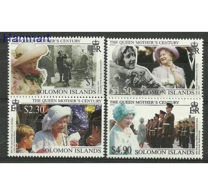 Znaczek Wyspy Salomona 1999 Mi 1000-1003 Czyste **
