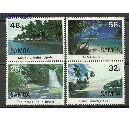 Znaczek Samoa i Sisifo 1984 Mi 536-539 Czyste **