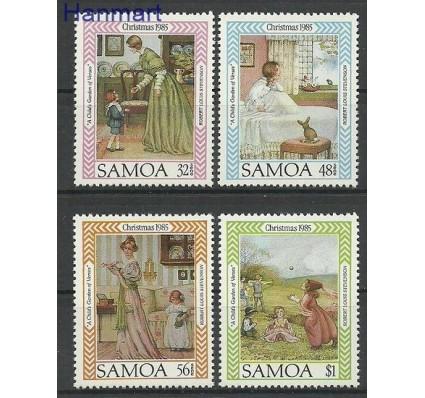 Znaczek Samoa i Sisifo 1985 Mi 576-579 Czyste **