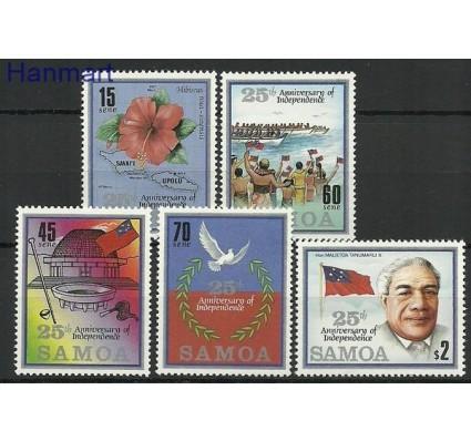 Znaczek Samoa i Sisifo 1987 Mi 607-611 Czyste **