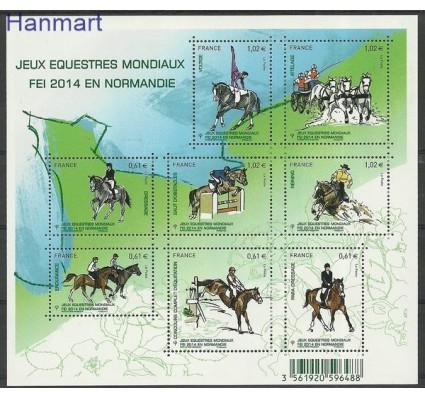 Znaczek Francja 2014 Mi ark 5949-5956 Czyste **