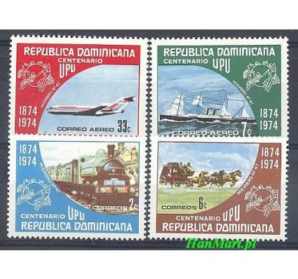 Znaczek Dominikana 1974 Mi 1068-1071 Czyste **