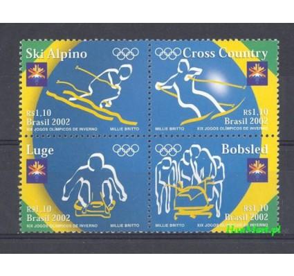 Znaczek Brazylia 2002 Mi 3218-3221 Czyste **