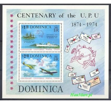 Znaczek Dominika 1974 Mi bl 28 Czyste **