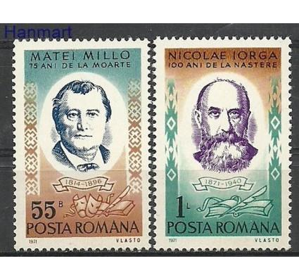 Znaczek Rumunia 1971 Mi 2999-3000 Czyste **