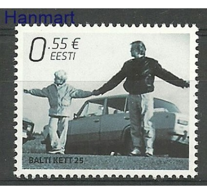 Znaczek Estonia 2014 Mi 798 Czyste **