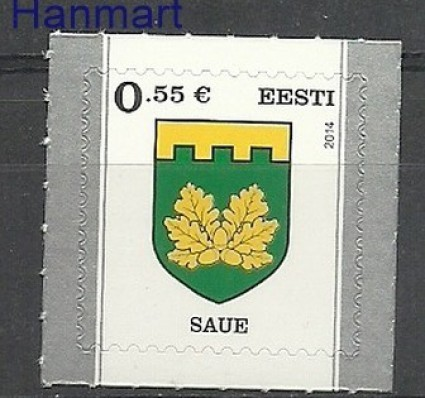 Znaczek Estonia 2014 Mi 806 Czyste **