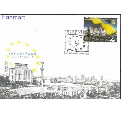 Znaczek Ukraina 2014 Mi 1427 FDC