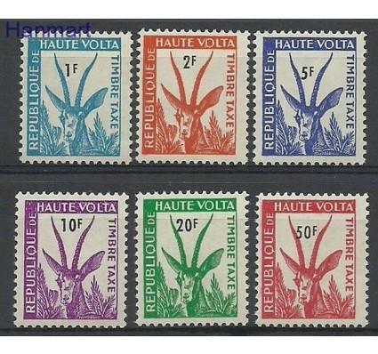 Znaczek Burkina Faso 1962 Mi 21-26 Czyste **