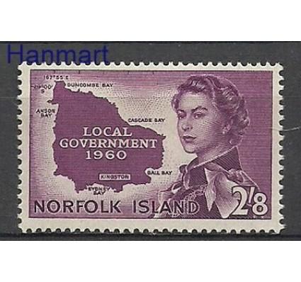 Znaczek Norfolk 1960 Mi 40 Z podlepką *
