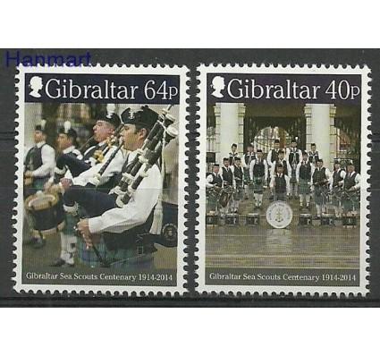 Znaczek Gibraltar 2014 Mi 1642-1643 Czyste **