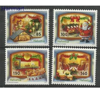 Znaczek Szwajcaria 2014 Mi 2366-2369 Czyste **