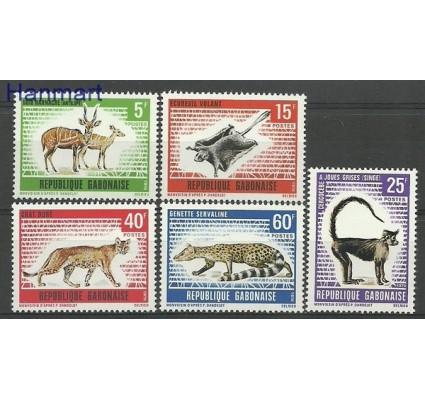 Znaczek Gabon 1970 Mi 398-402 Czyste **