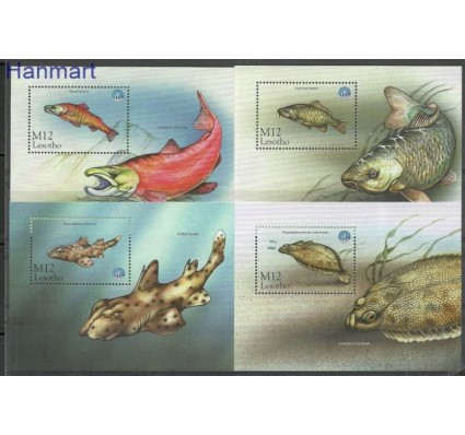 Znaczek Lesotho 1998 Mi 140-142 Czyste **