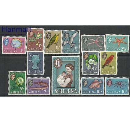 Znaczek Wyspa św. Heleny 1961 Mi 146-159 Czyste **