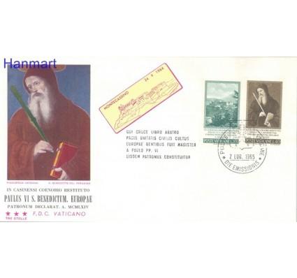 Znaczek Watykan 1965 FDC