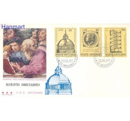 Znaczek Watykan 1972 FDC