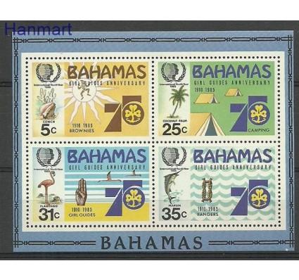 Znaczek Bahamy 1985 Mi bl 45 Czyste **
