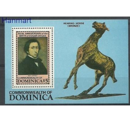 Znaczek Dominika 1984 Mi bl 92 Czyste **