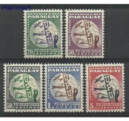 Znaczek Paragwaj 1950 Mi 656-660 Z podlepką *