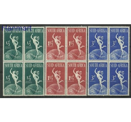 Znaczek Republika Południowej Afryki 1949 Mi 211-216 Z podlepką *