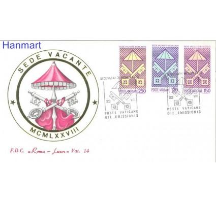 Znaczek Watykan 1978 FDC