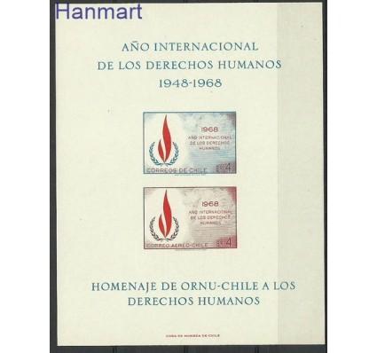 Znaczek Chile 1969 Mi gedbl 716-717B Czyste **