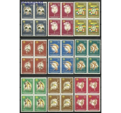 Kolumbia 1961 Mi 996-1004 Czyste **