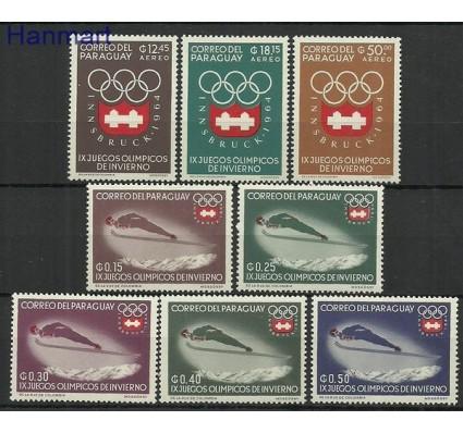 Znaczek Paragwaj 1963 Mi 1249-1256 Czyste **