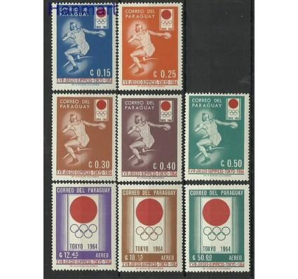 Znaczek Paragwaj 1964 Mi 1265-1270 Czyste **