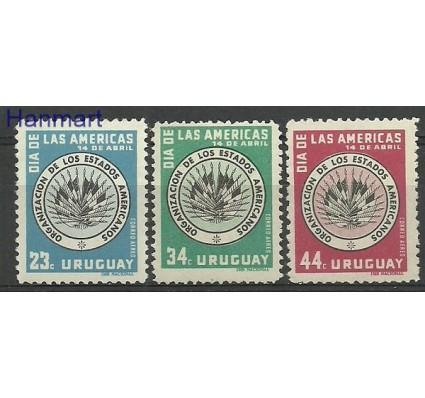 Znaczek Urugwaj 1958 Mi 814-816 Czyste **