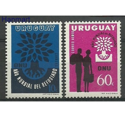 Znaczek Urugwaj 1960 Mi 887-888 Czyste **