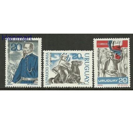 Znaczek Urugwaj 1966 Mi 1060-1062 Czyste **
