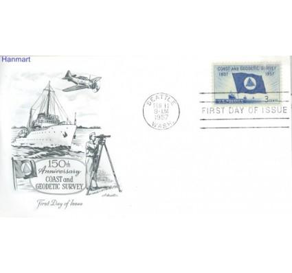 Znaczek USA 1957 Mi 710 FDC