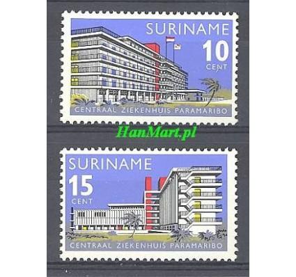 Znaczek Surinam 1966 Mi 492-493 Czyste **