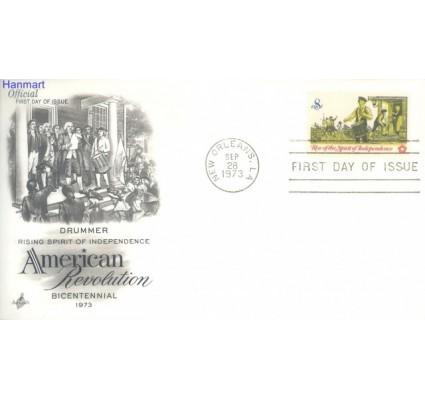 Znaczek USA 1973 FDC