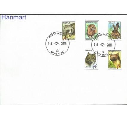 Znaczek Białoruś 2014 Mi 1040-1044 FDC