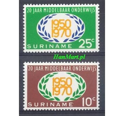 Znaczek Surinam 1970 Mi 575-576 Czyste **