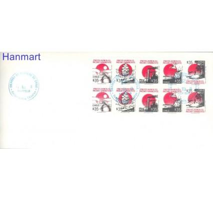 Znaczek Chile 1990 Mi 1371-1380 FDC