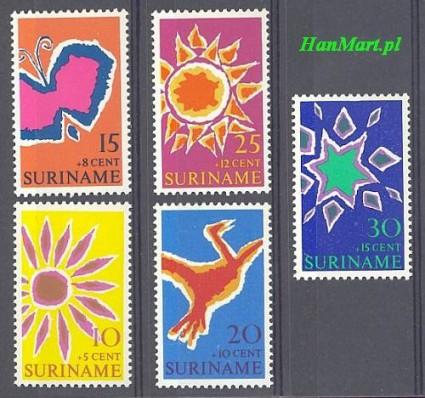 Znaczek Surinam 1970 Mi 570-574 Czyste **