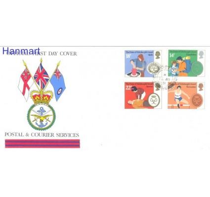 Znaczek Wielka Brytania 1981 Mi 886-889 FDC