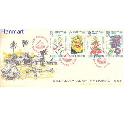 Znaczek Indonezja 1966 Mi 537-539 FDC