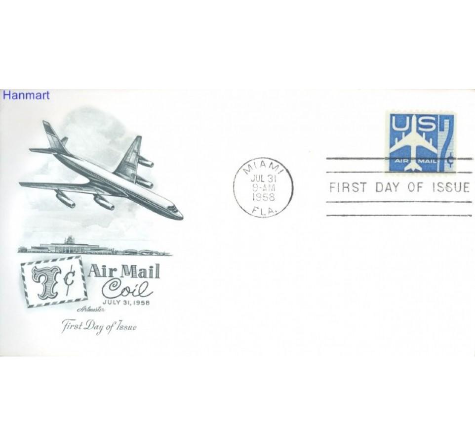 USA 1958 FDC