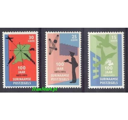 Znaczek Surinam 1973 Mi 663-665 Czyste **
